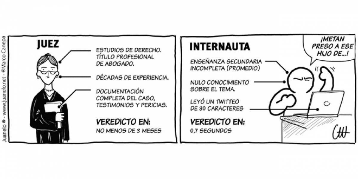Juanelo - Veredicto