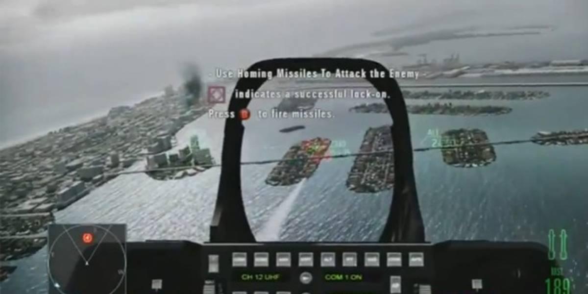 El contenido descargable de Ace Combat Assault Horizon, a mitad de precio en Europa