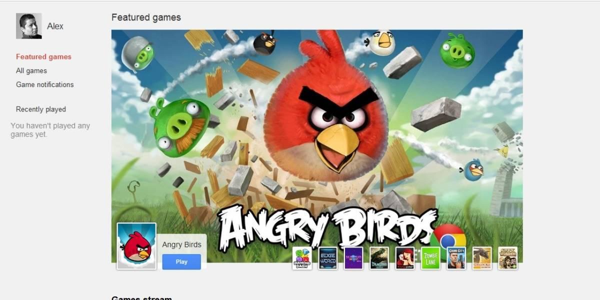 Google+ activa su servicio de juegos