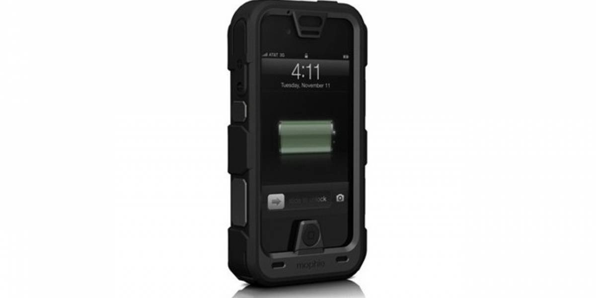 Juice Pack Pro es la nueva resistente carcasa-batería de Mophie para el iPhone 4/4S