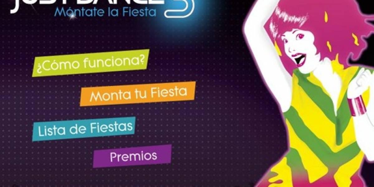 Participa en el concurso de Ubisoft España con Just Dance 3 en Facebook