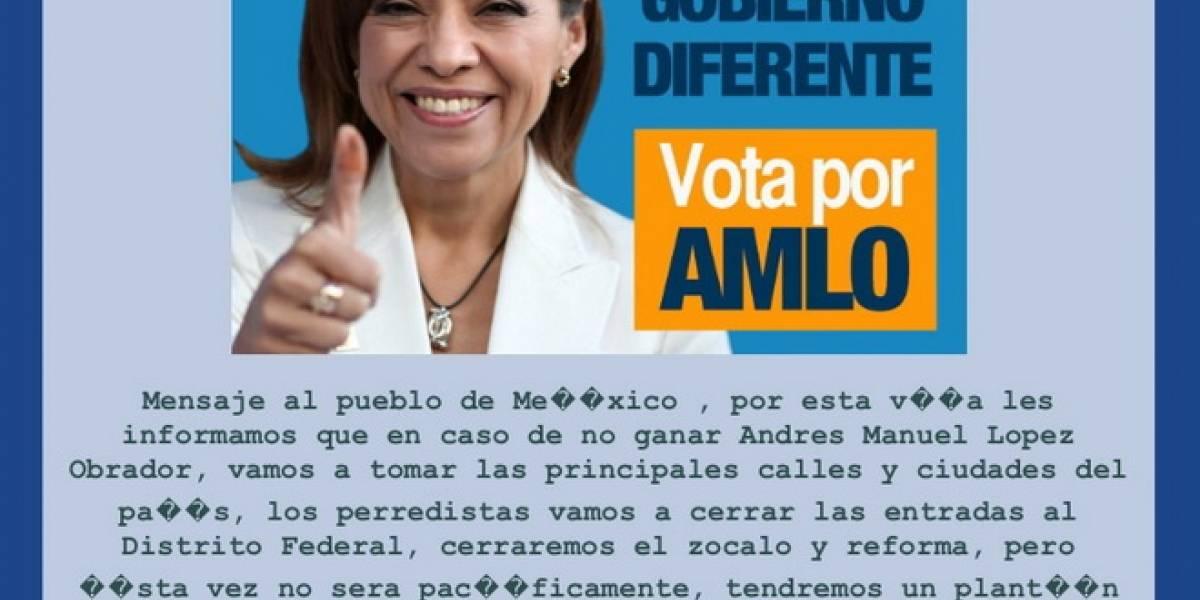 México: Hackean página de Josefina Vázquez Mota