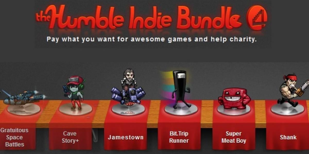 Paga lo que quieras por el Humble Indie Bundle 4