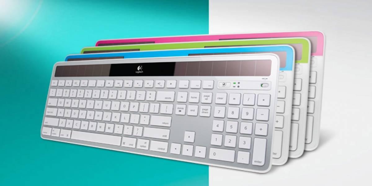 Logitech anuncia su versión para Mac del teclado inalámbrico solar K750