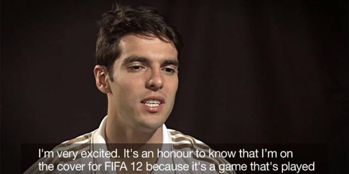 Kaká responde preguntas a los jugadores de FIFA
