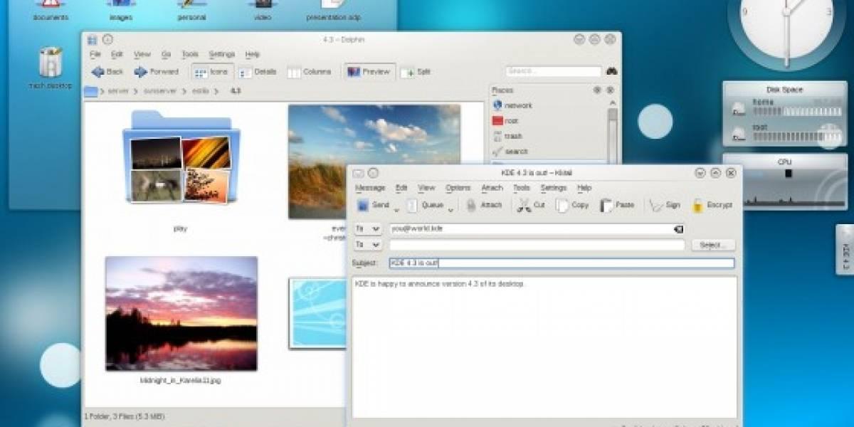 KDE 4.3 ha sido liberado