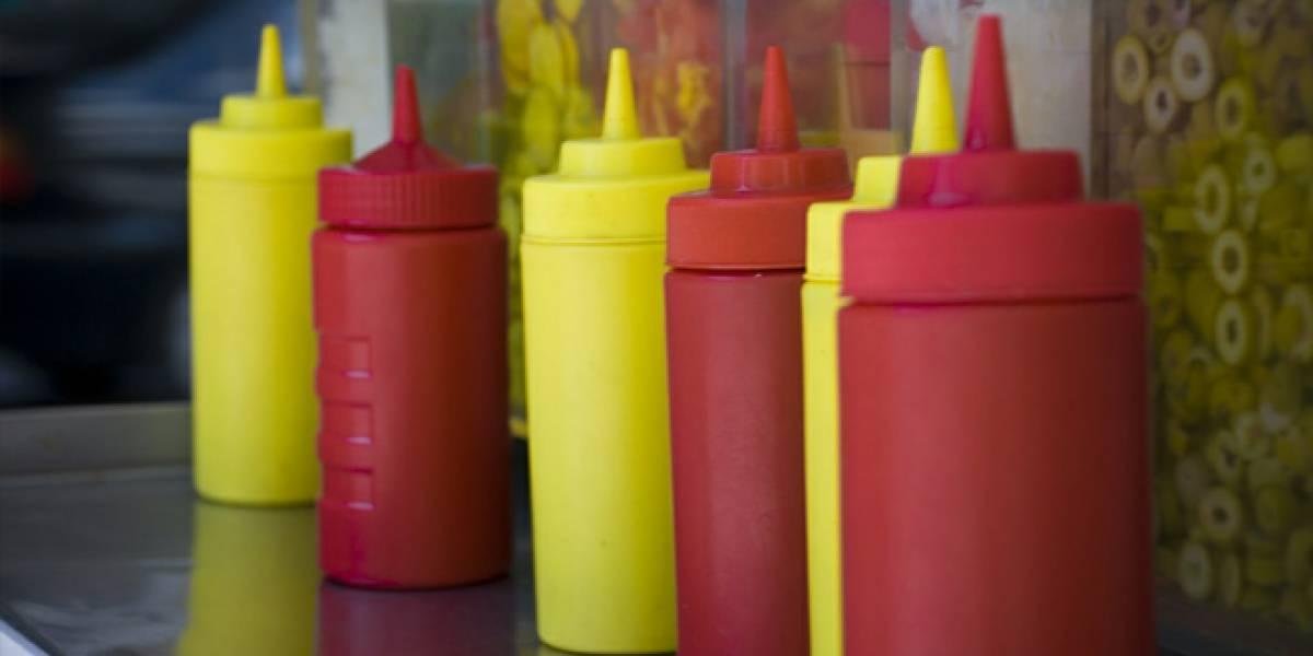 MIT crea material superresbaloso para botellas de ketchup y mayonesa