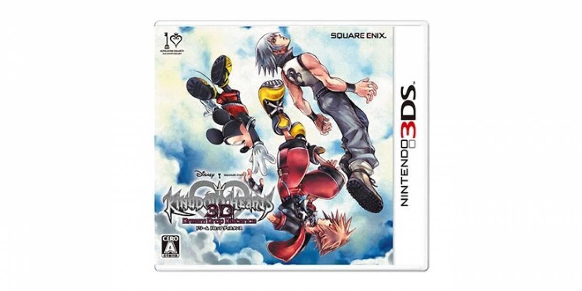 Kingdom Hearts 3D llega este verano septentrional a Europa