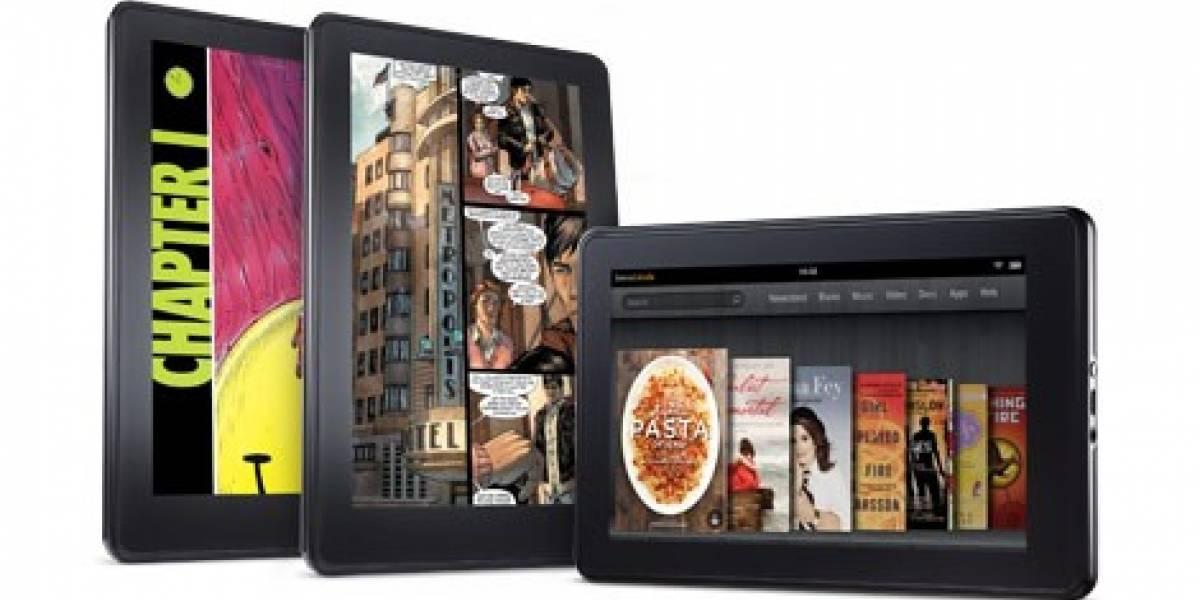 Según estudio, el Kindle Fire es el competidor más serio frente al iPad
