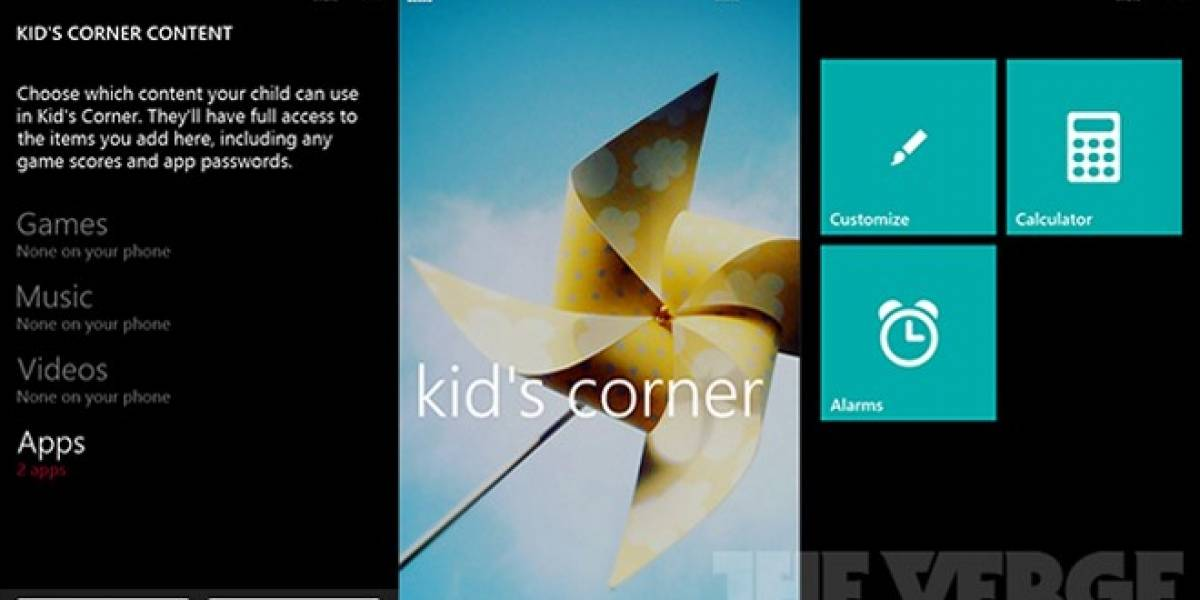 Así será el control parental en Windows Phone 8