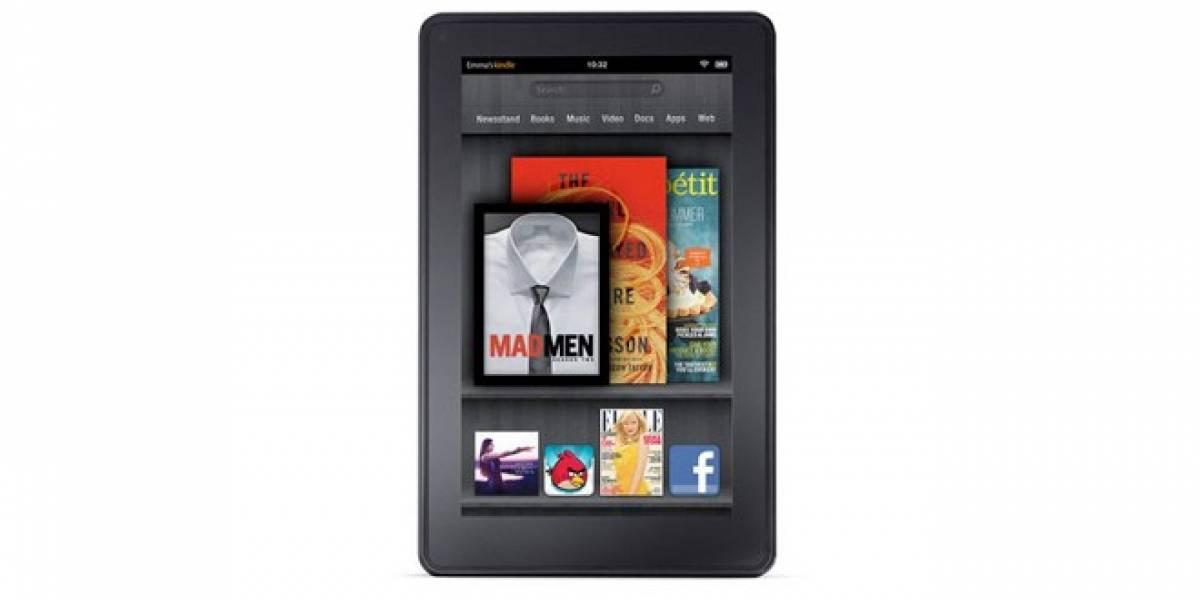 Kindle Fire fue un éxito en el periodo de su lanzamiento