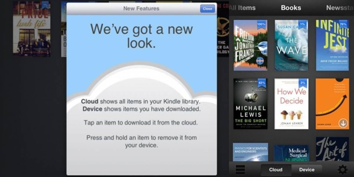 App de Kindle actualizada para la nueva iPad