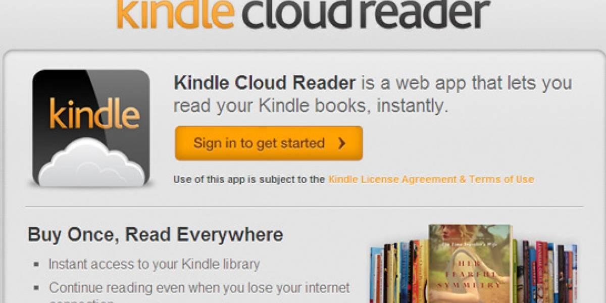 Amazon permitirá leer e-books de Kindle en el navegador
