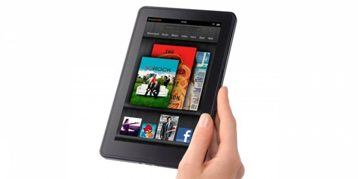 Kindle Fire recibe actualización 6.3