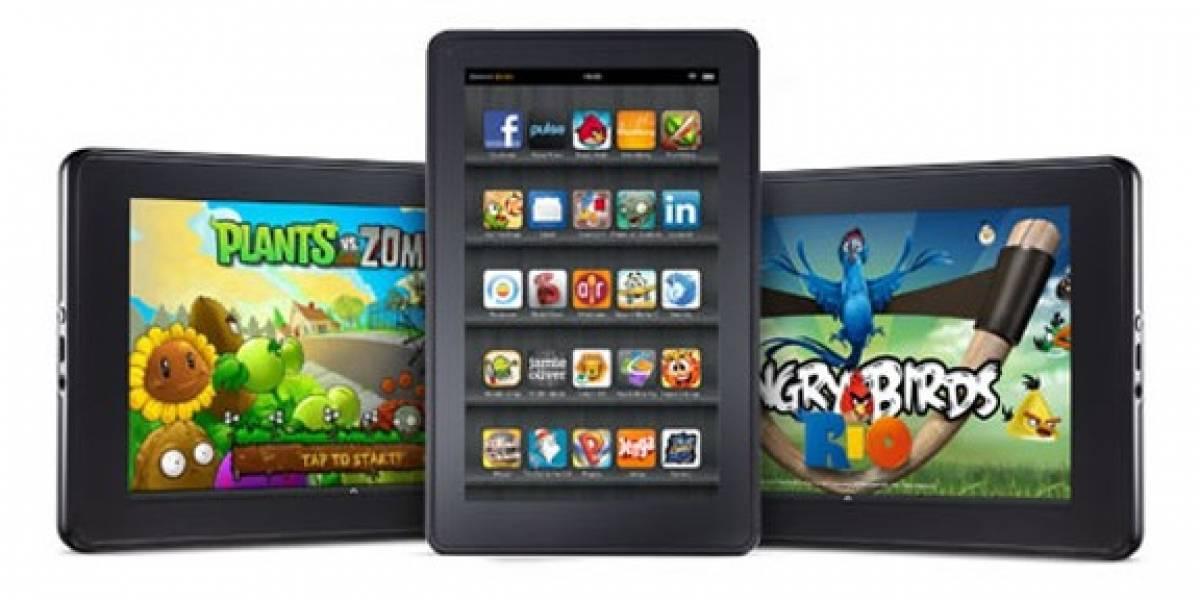 Kindle Fire se lanza el 15 de noviembre con Twitter, Angry Birds y otras apps