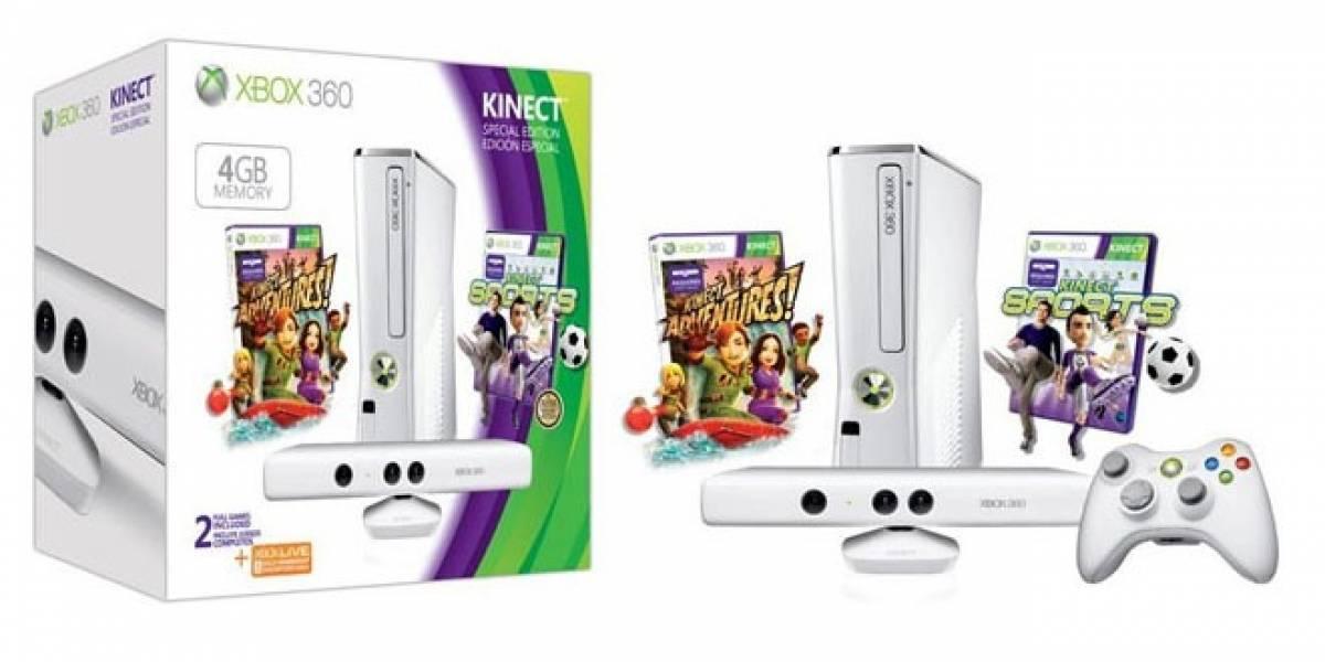 España: Microsoft lanza nuevo paquete de Xbox 360 con Kinect