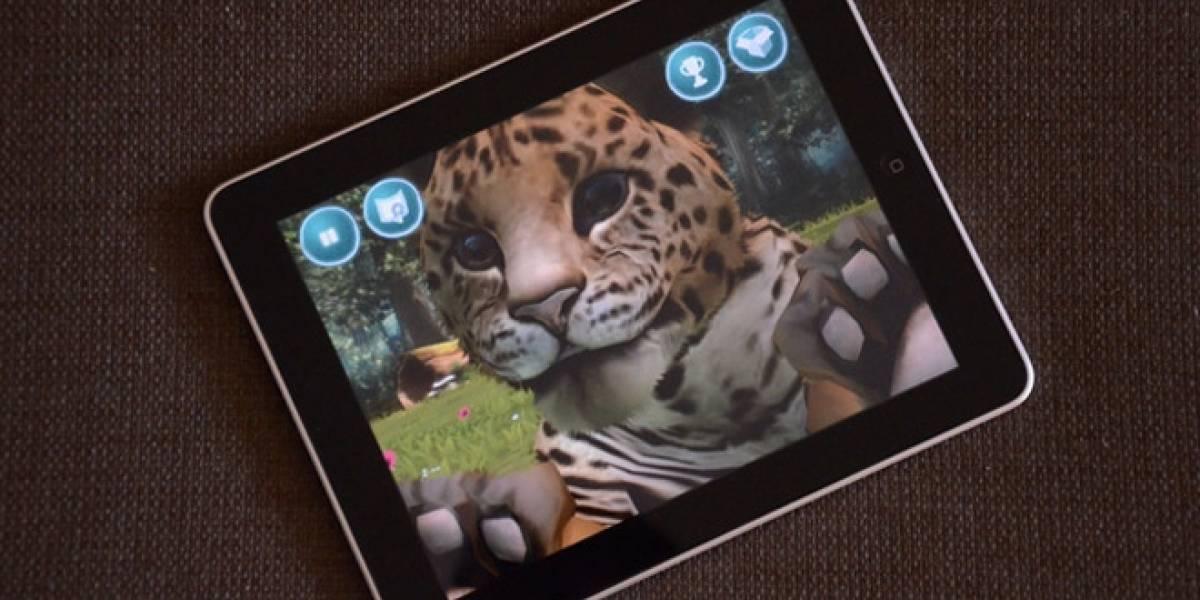 Microsoft comete alta traición y lanza Kinectimals para iPhone y iPad