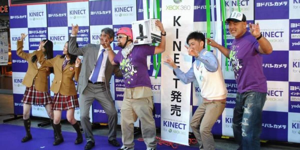 Kinect y sus cifras a un año del lanzamiento en el mercado japones