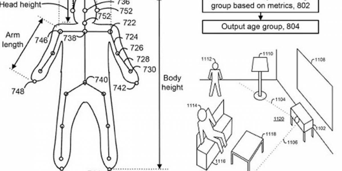 Kinect podría deducir tu edad y automáticamente bloquear contenido inapropiado