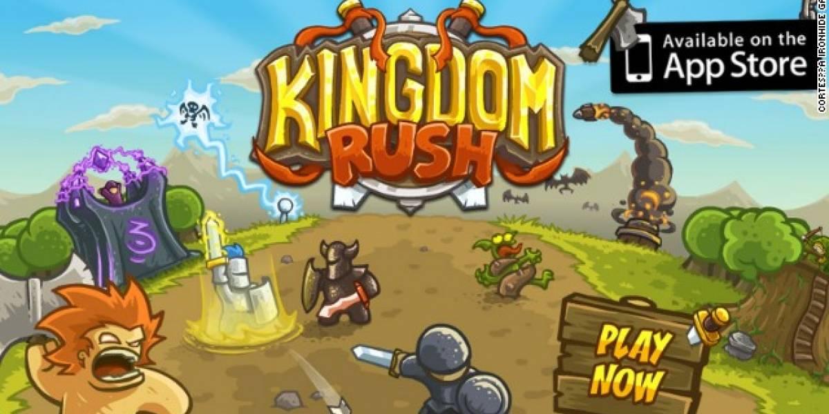 Kingdom Rush: El videojuego uruguayo que está entre las aplicaciones para iPhone más vendidas en Estados Unidos