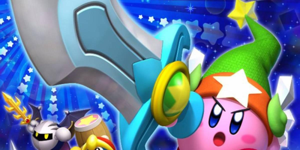 Video presume las habilidades de Kirby y su próximo título para Wii