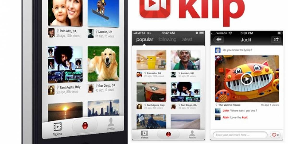 Klip comparte los vídeos que grabas en tu smartphone y los hace más sociales