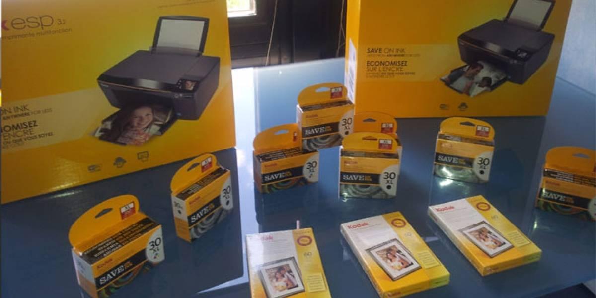 Kodak nos presentó sus nuevas multifunción que imprimen desde el móvil