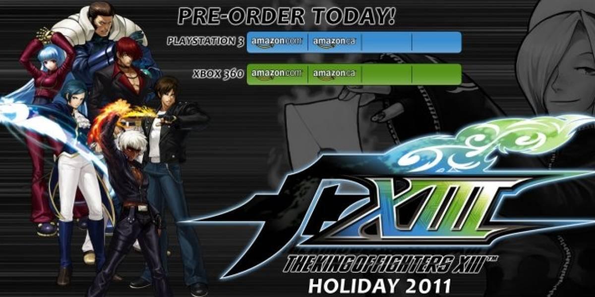King of Fighters XIII aparecerá a la venta en noviembre