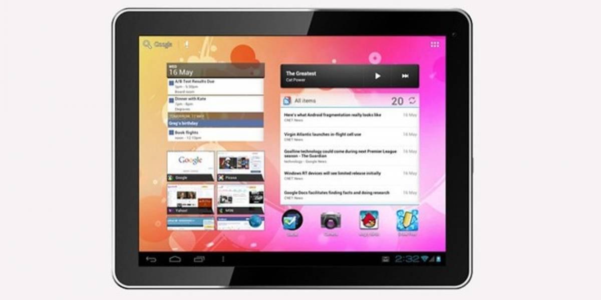 Agora, una tablet de 10 pulgadas con Android 4.0 que sólo cuesta USD $179