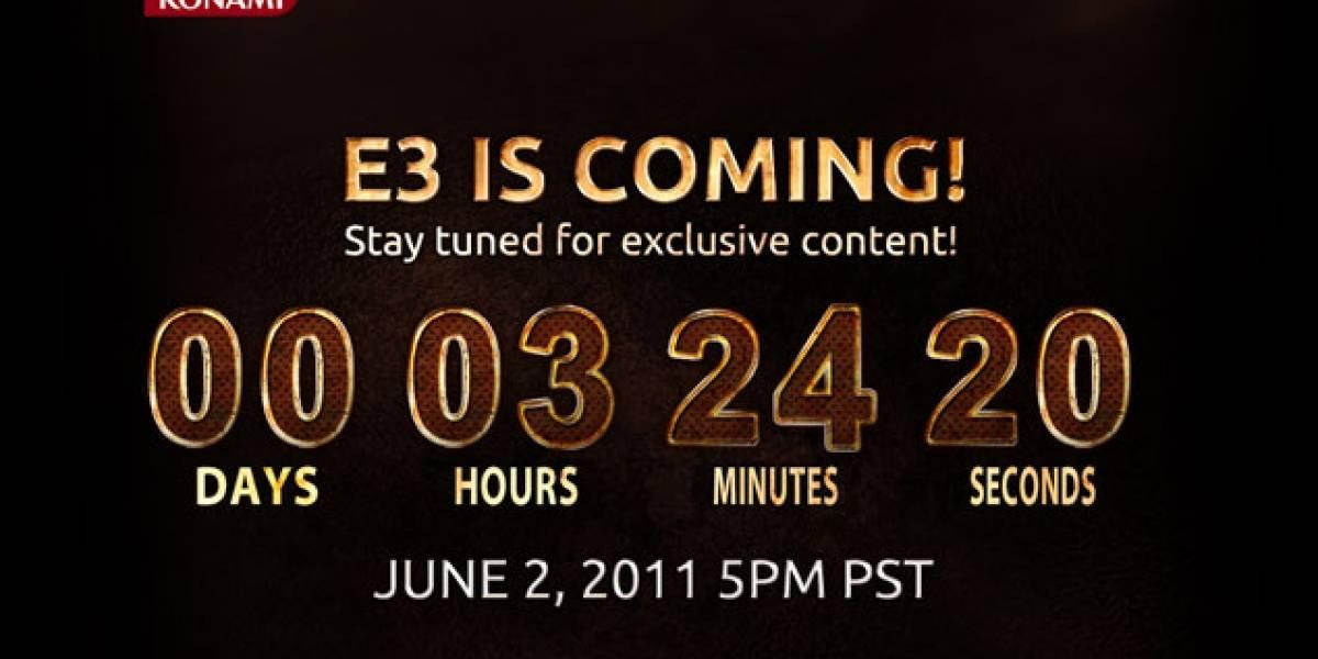 En 3 horas y 15 minutos estaremos en el show de Konami previo a la [E3 2011]