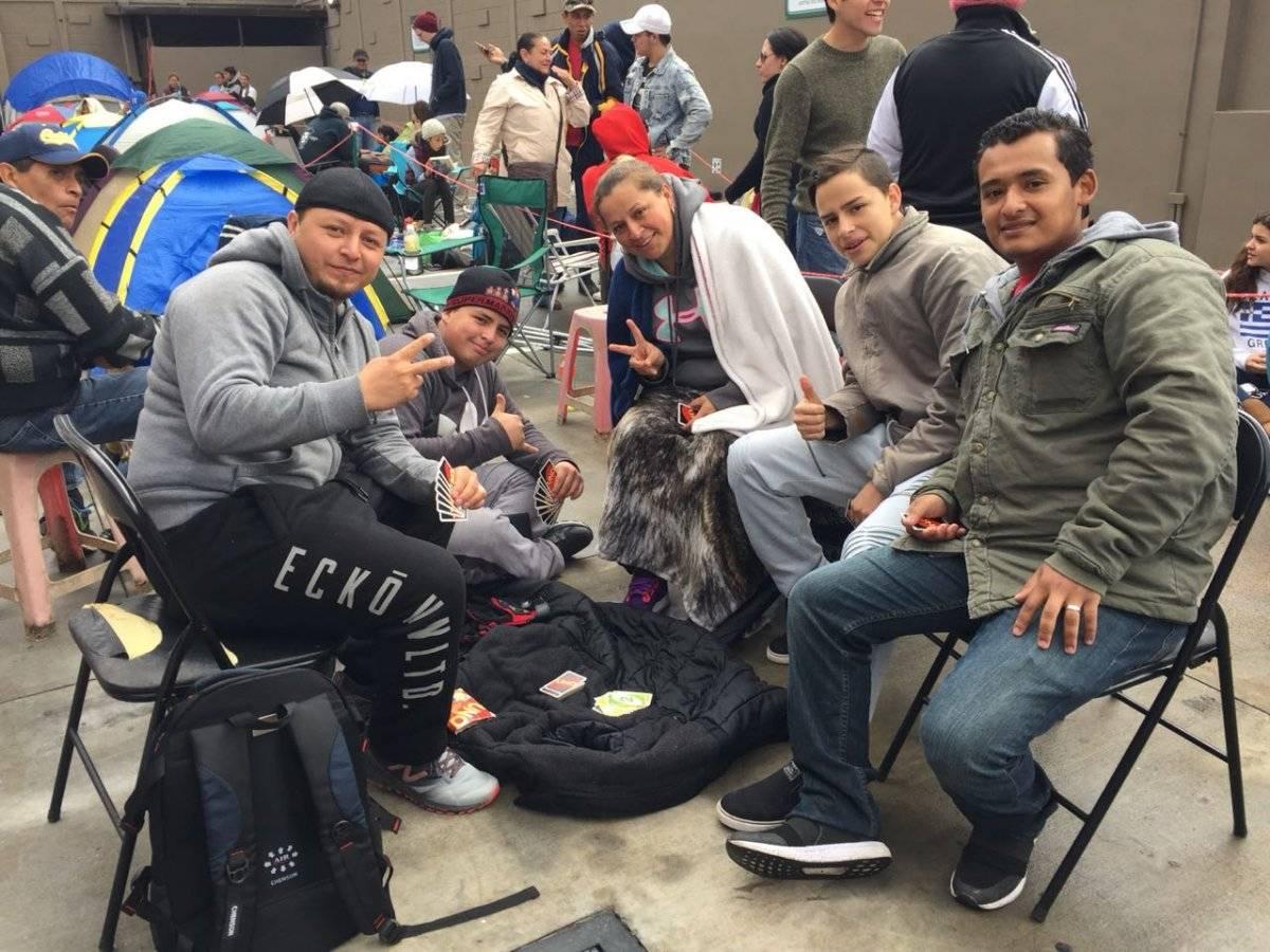 Familias jugando para pasar el tiempo Ruslin Herrera