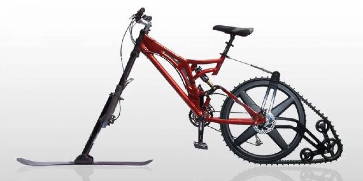 Ktrak: Bicicleta para nieve y arena