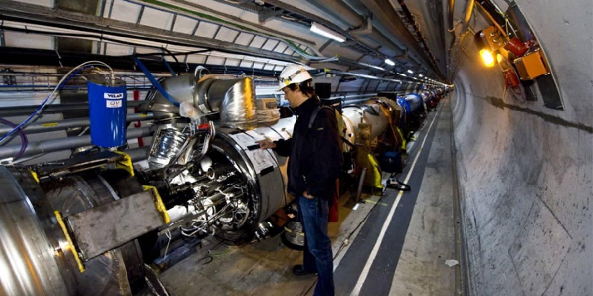 ¿Qué pasa si colocamos la mano en el haz generado por el LHC?