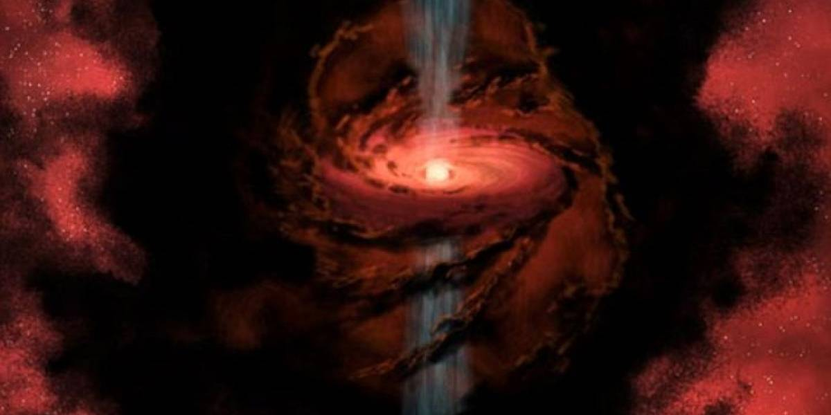 Descubren estrella que lanza hidrógeno y oxígeno (agua) al espacio