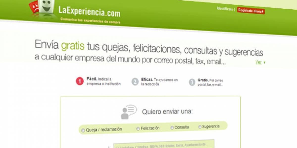LaExperiencia.com: Comparte a través de la Web tus experiencias de compra