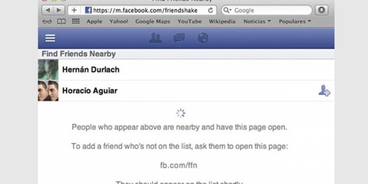 Desaparece Find Friends Nearby de FaceBook