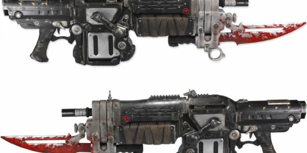 ¡Sácale un ojo a alguien con esta réplica del Retro Lancer de GoW 3!
