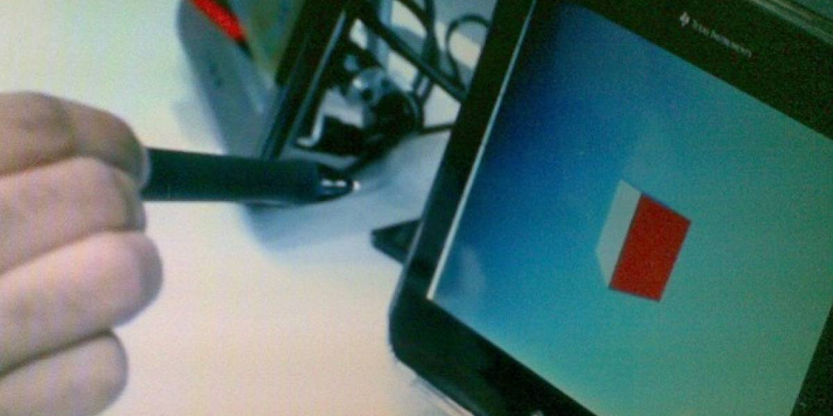 MWC12: Texas Instruments presentó un lápiz ultrasónico que trabaja en 3D