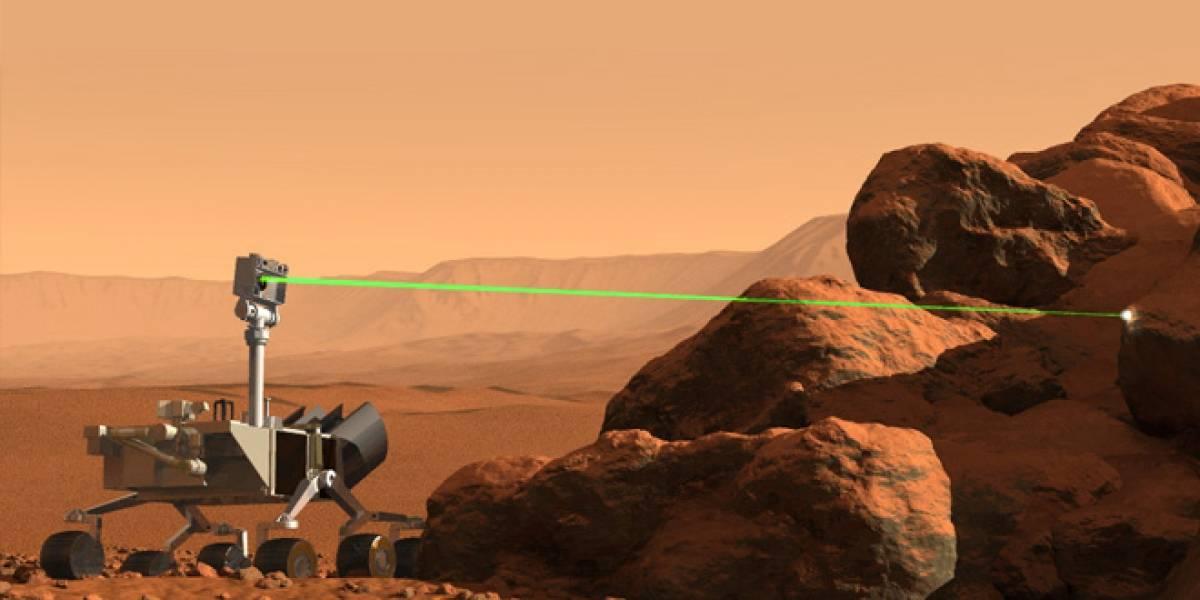 Mars Curiosity usará por primera vez su láser este fin de semana