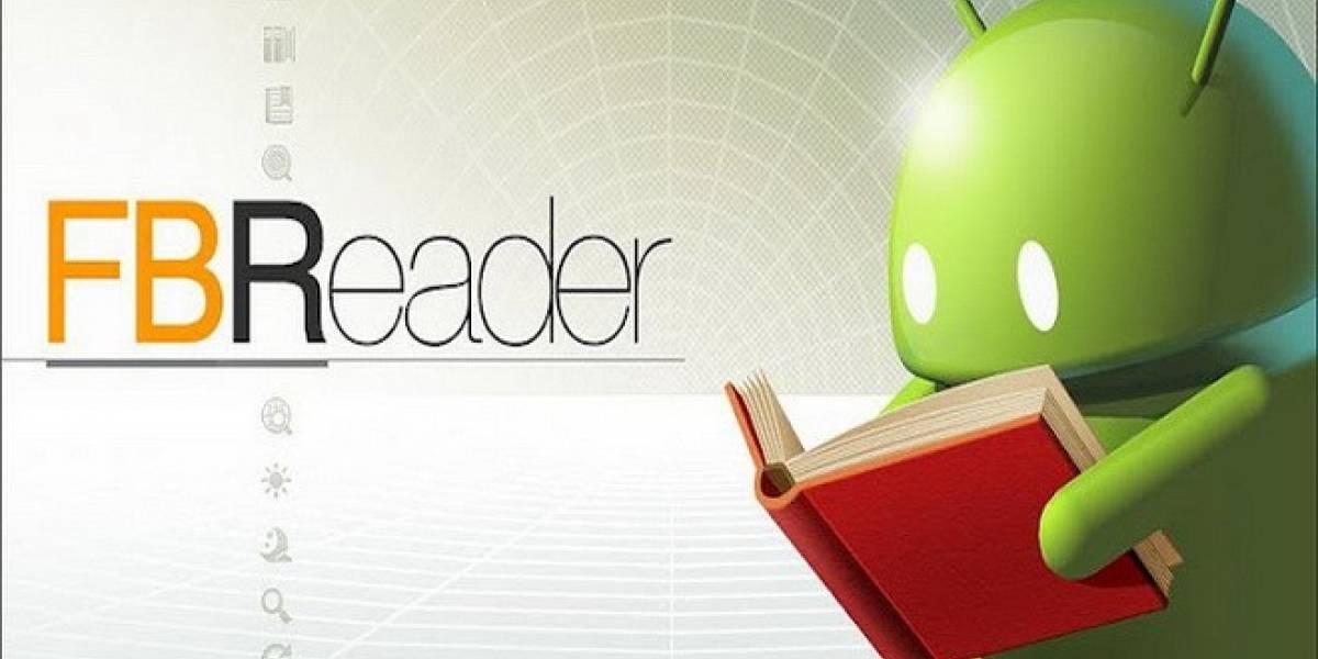 Aplicaciones para usar nuestro dispositivo Android como un lector de libros electrónicos