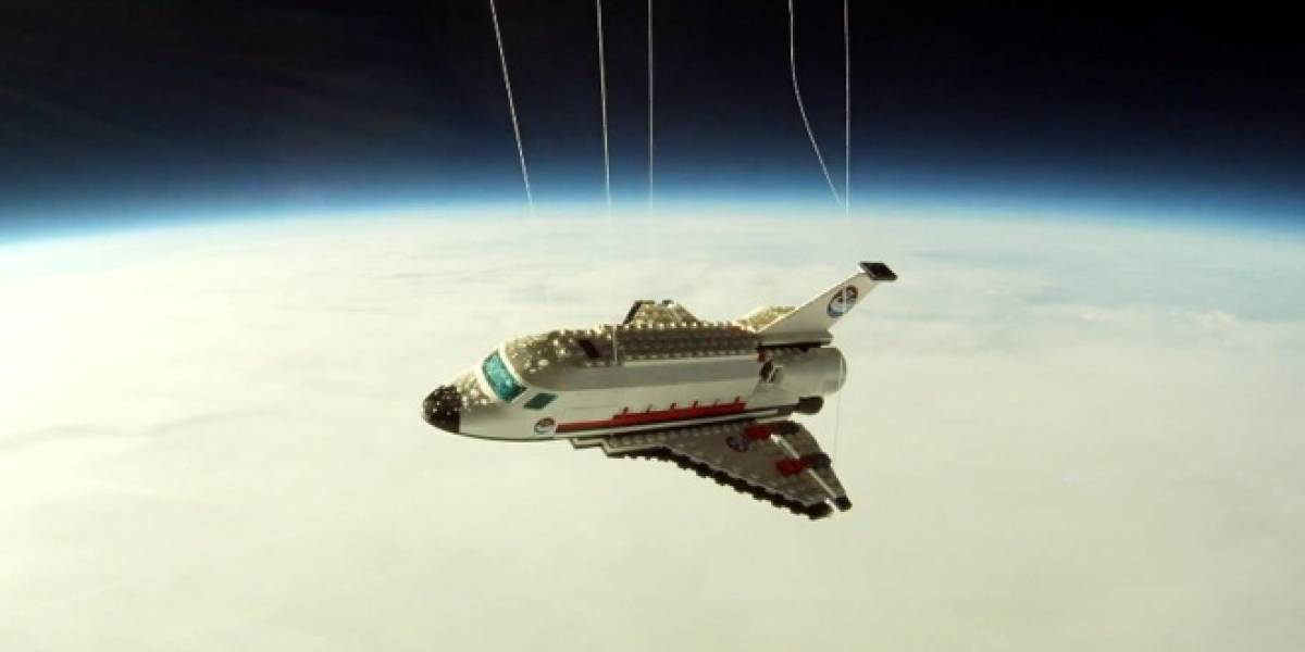 El transbordador espacial despega de nuevo... en versión LEGO