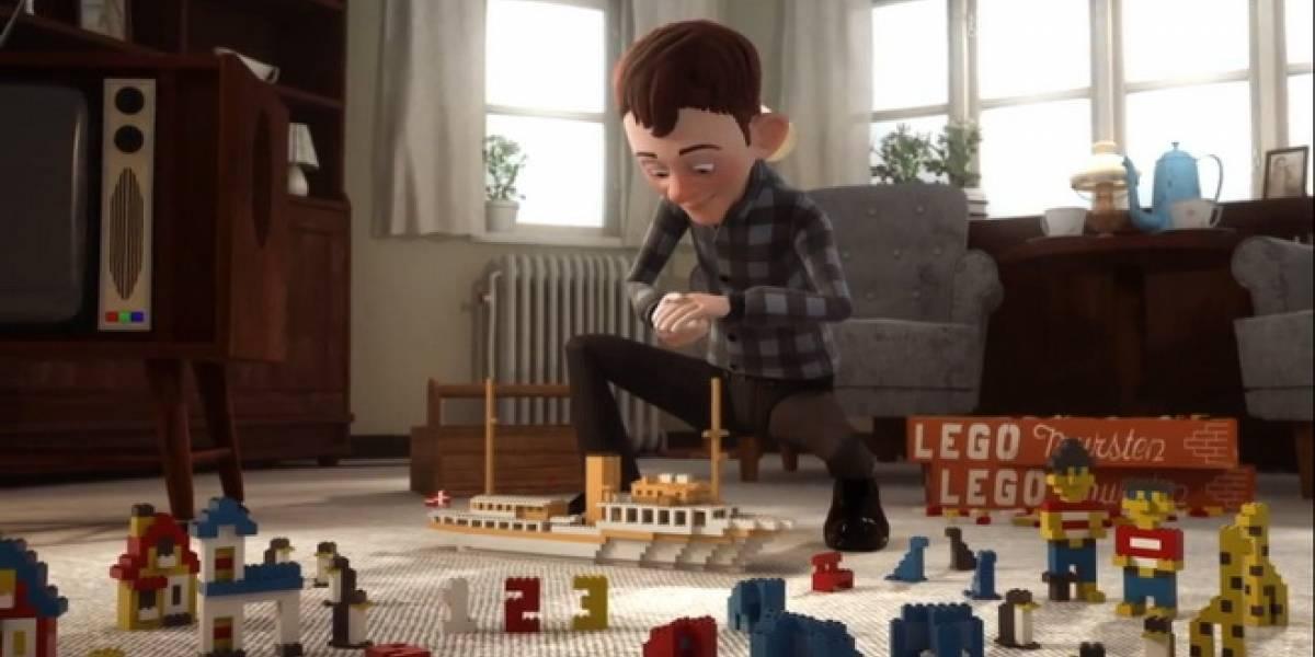 Lego celebra 80 años de historia con este corto animado