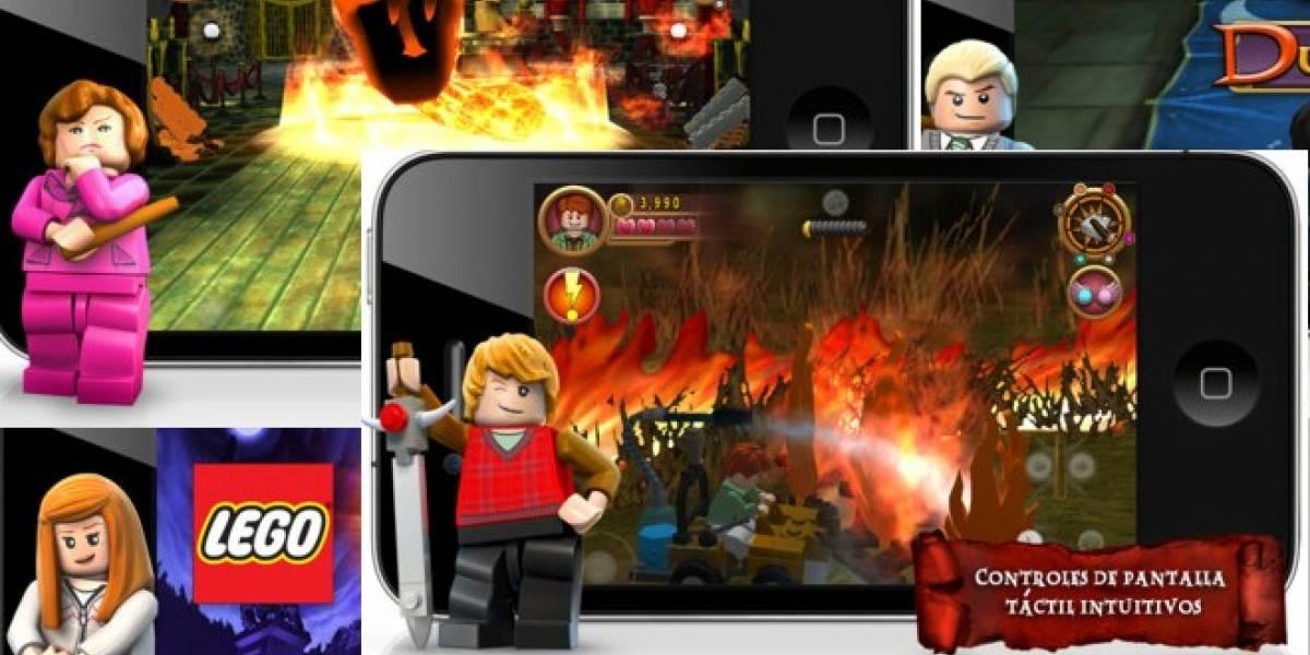 El Harry Potter de Lego lleva sus aventuras mágicas al iPhone y al iPad