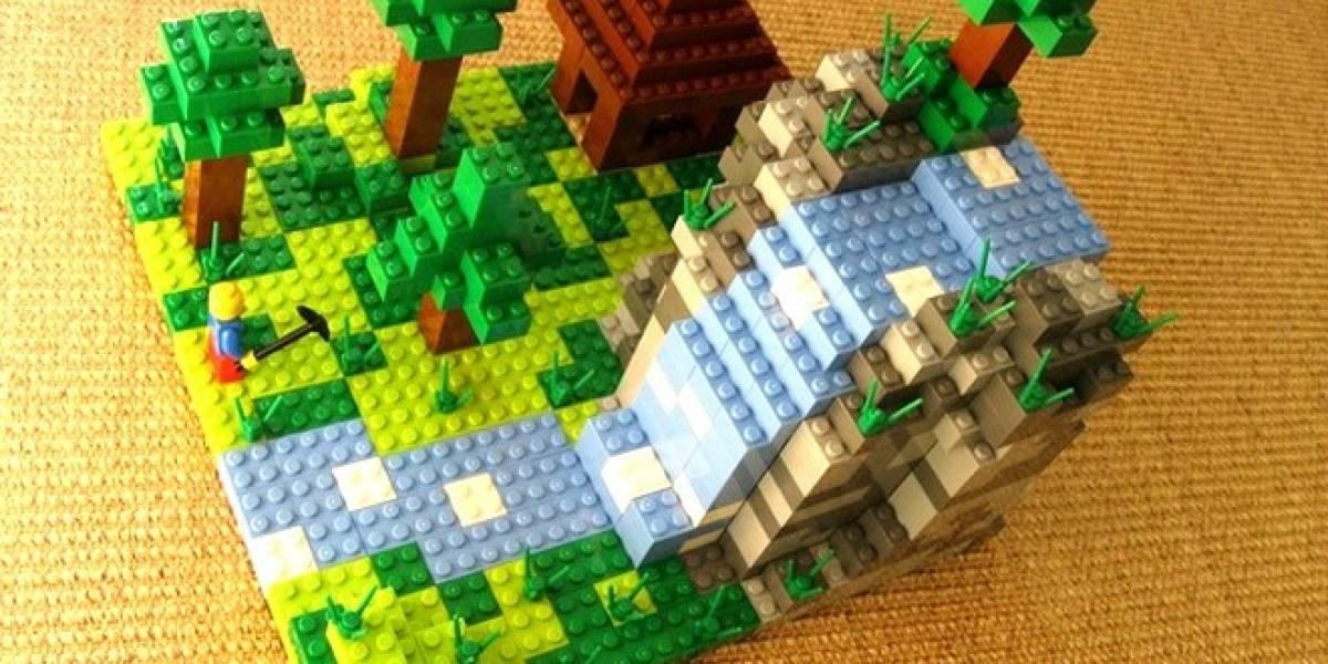 El proyecto LEGO Minecraft es una realidad