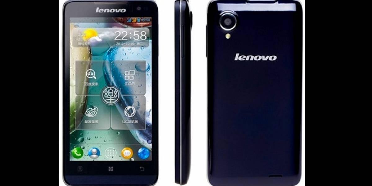 Nuevo Lenovo IdeaPhone P770 con batería de 3.500 mAh
