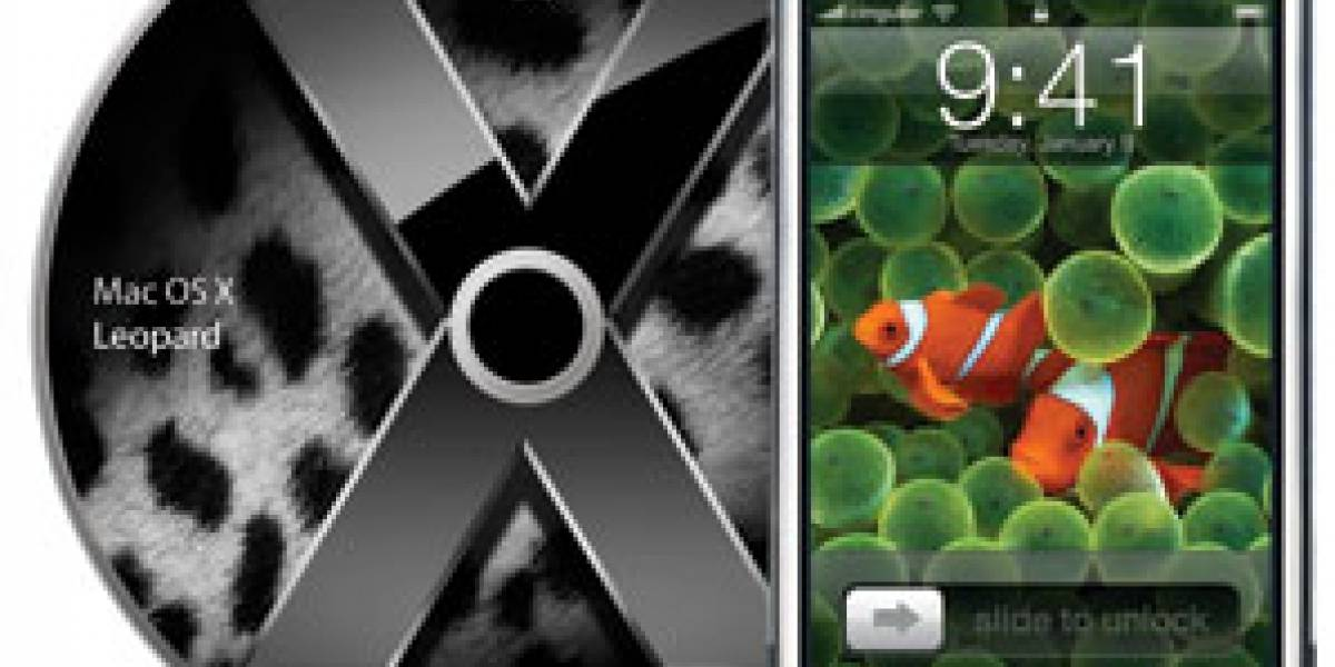 iPhone se acerca, Leopard se aleja