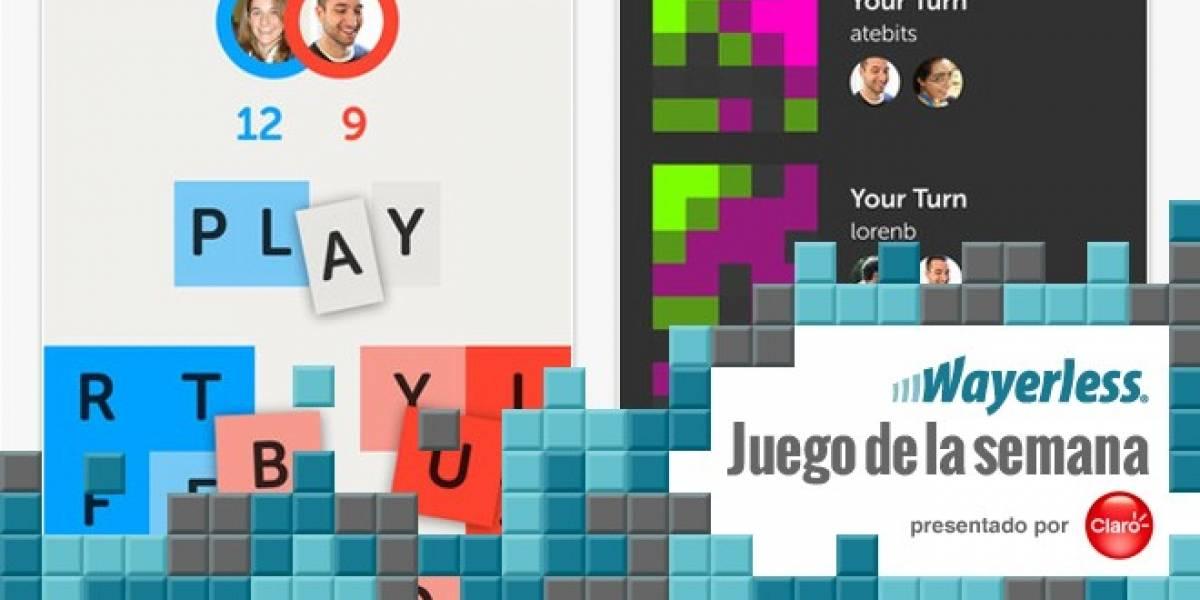 Letterpress, la nueva sensación para iOS [W Juego]