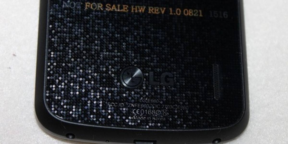Se filtran imágenes del que será el LG Nexus