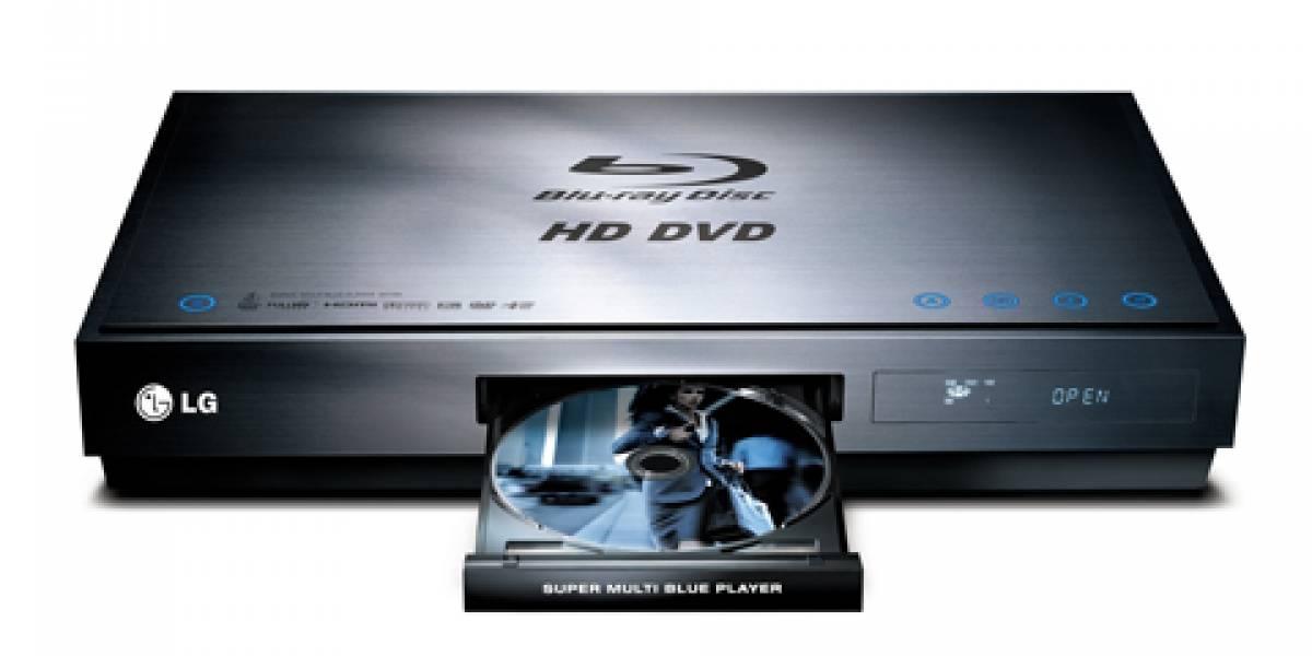 LG BH100: Reproductor Blu-Ray & HD DVD