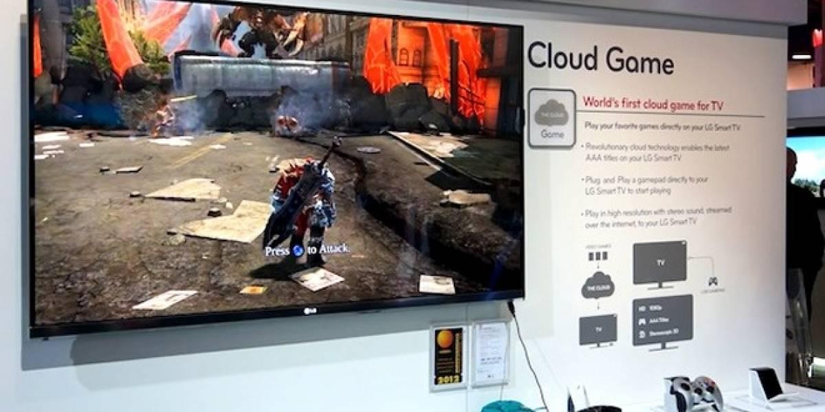 CES 2012: LG presenta televisiones preparadas para cloud gaming